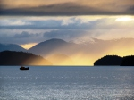 Sunset over the Inside Passage