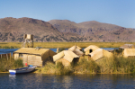 Floating Island Lake Titicaca